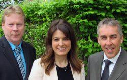 Député(e)s du Parti Québécois de Lanaudière : André Villeneuve (Berthier), Véronique Hivon (Joliette) et Nicolas Marceau (Rousseau)
